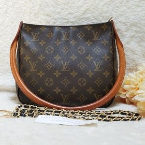 Louis Vuitton Looping MM Crossbody Bag Monogram
